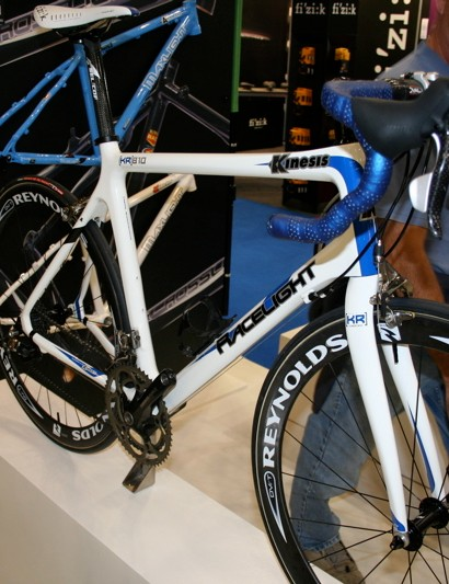 Kinesis' flagship KR810 frame is now also available in white.