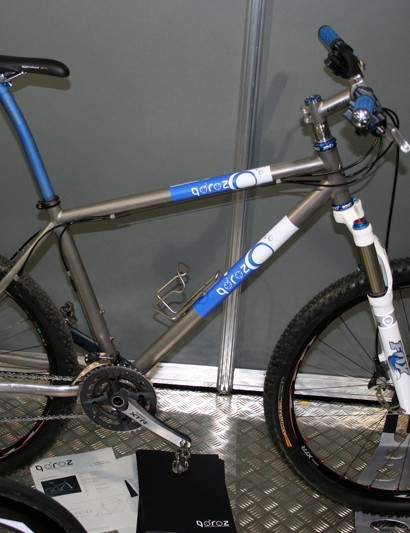 Qoroz also goes off-road with the Mountain Won cross country frame.