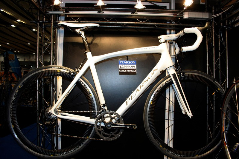 Pearson's flagship Carbon Pro has been upgraded for 2009 with a stiffer front end.