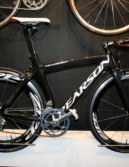 The Headrush is Pearson's top time trial frame and has also been upgraded for 2009.