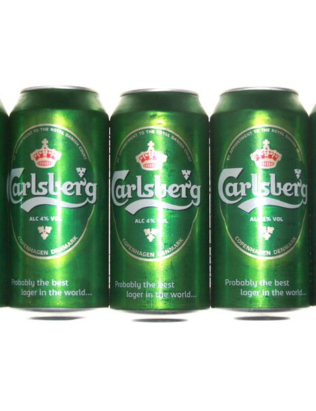 Five cans of this lager contains nearly 1000 calories