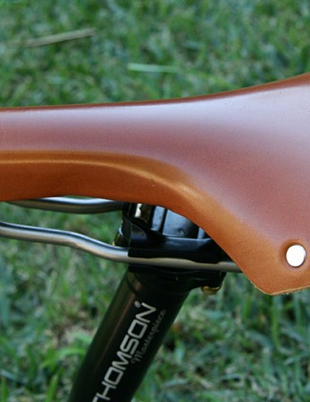 The Swallow Classic in situ. The long nose means you may need it further forward than you expect.