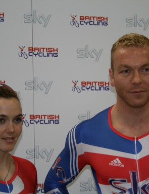 Victoria Pendleton and Chris Hoy will be looking to maximise the advantages of their meticulously designed bikes