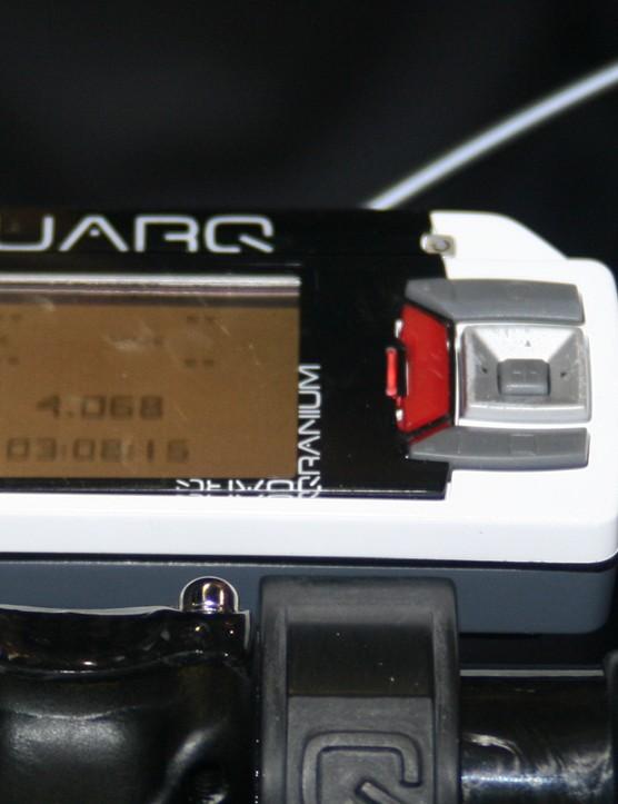 Quarq Qranium handlebar computer