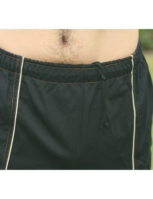 Elasticated drawstring waist is simple and effective