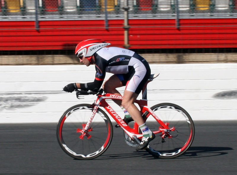 Nathan rides the Transition with TT2 helmet