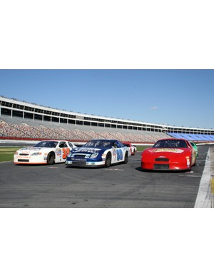 Stock cars used for NASCAR racing, one of the biggest sports in the USA