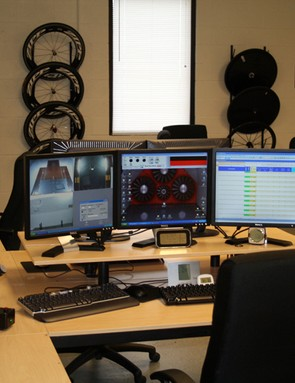 The nerve centre of the A2 wind tunnel