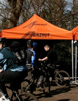 Late comers Halfords joined the tour
