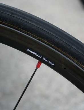 The new wheel is still labelled as part of the WH-7850 family.