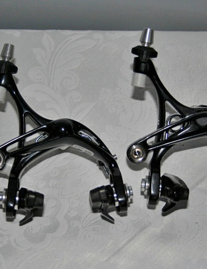 Record and Super Record brakes retain the D-Skeleton design.