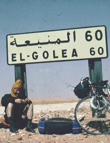 A well deserved Saharan rest