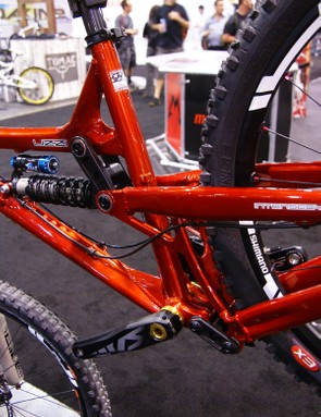 Intense says the revised VPP geometry yields more usable travel and less pedal feedback.
