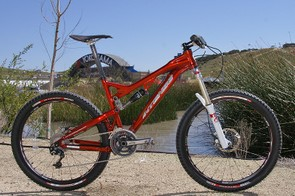 Intense Cycles launched a new trail/all-mountain bike that still doesn't have a name just yet.