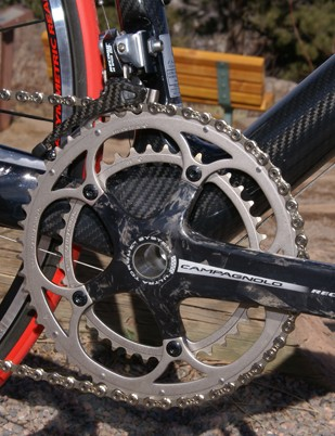 Campagnolo was late with external-bearing bottom brackets but its Ultra-Torque design was worth it