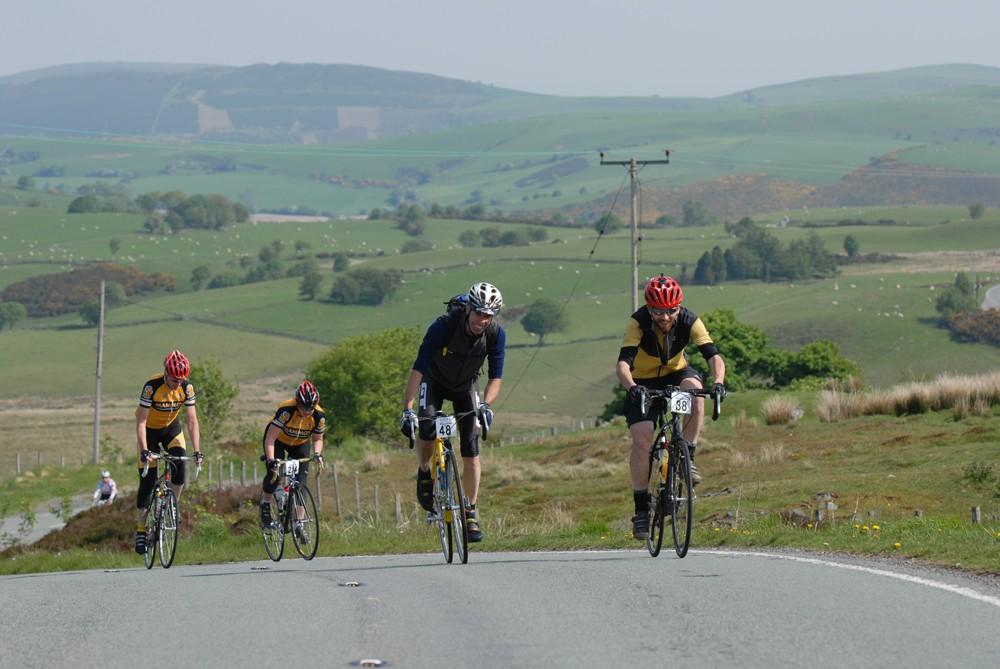 Sportive participants.