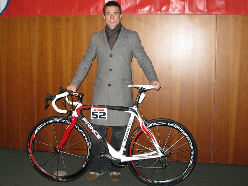 James and his Pinarello