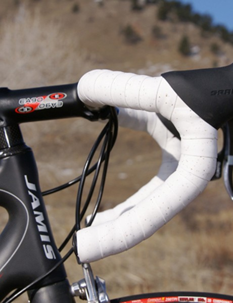 The premium build kit includes a SRAM Red group and Easton components.
