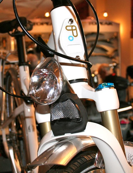 Custom mounts made it dead easy to add accessories like lights