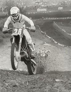 Former motocross legend Johnny O'Mara.