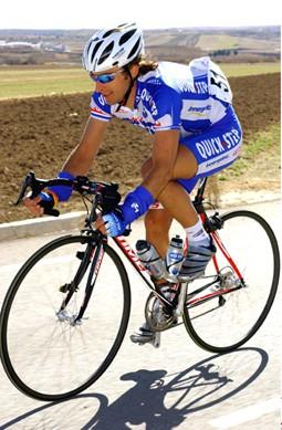Cycling : Routa Del Sol / Stage 2 KNAVEN Servais ( Ned ) Stage 2 : Antequera - La Zubia ( Granada - Alto de Cumbres Verdes ) Vuelta Andalucia Etape / Rit