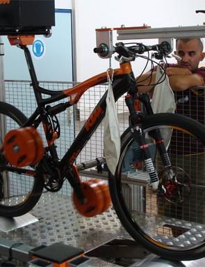 Custom testing rig