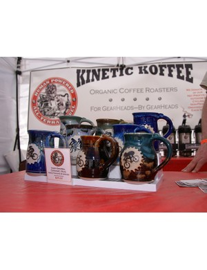 Kinetic Koffee is still at it, this time with some one-off mugs courtesy of Cathy Crandell.