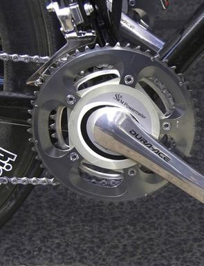 Kirchen's bike is SRM-equipped…