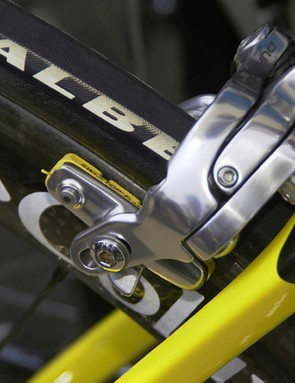 …but the SwissStop brake pads are!