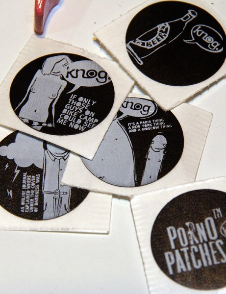 … although given how cool the graphics on the patches are we're guessing some people might even be hesitant to use them!