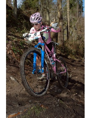American Willow Koerber (Gary Fisher) is on the cross-country team for Italy.