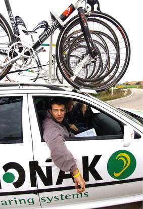 CYCLING : TRAINING PHONAK  LELANGE John ( BEL ) MANAGER EQUIPE PLOEG / ENTRAINEMENT