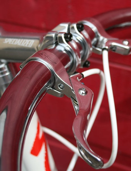 Track bar and brake combo