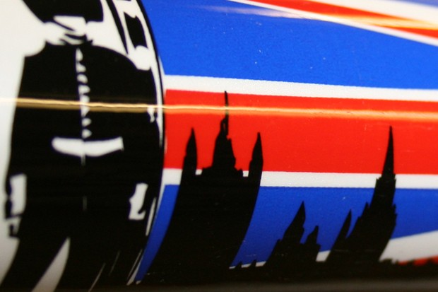 Langster'stop tube decal