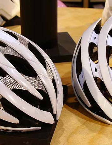Lazer's new Helium helmet looks nearly identical to the existing Genesis but is substantially lighter.