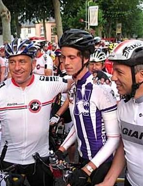 Greg (L) and Geoffrey LeMond at the 2007 L'Etape du Tour.