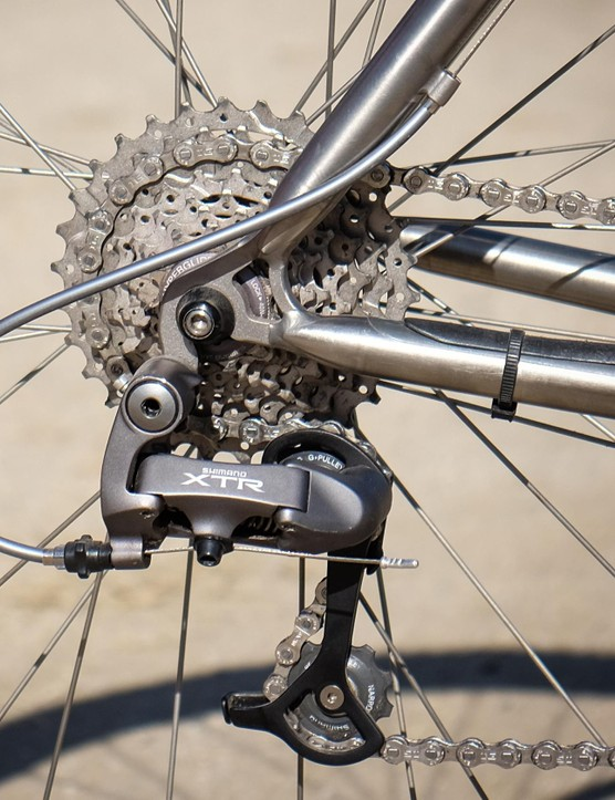 8-speed XTR: the gold standard in shifting performance for retro-grouches