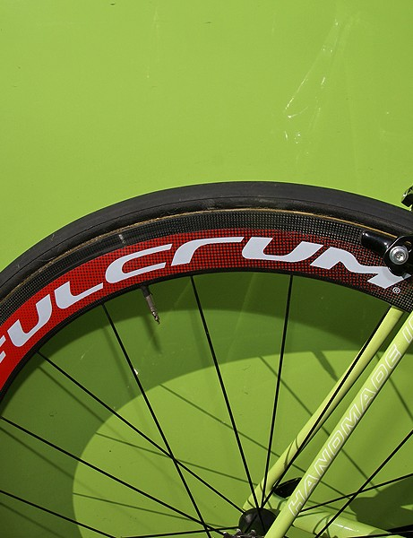 Pozzato opted for deep-section carbon tubulars…