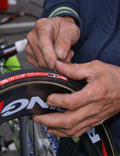 A keen eye, a sharp pick and a bottle of glue extends the life of tubulars and keeps punctures away