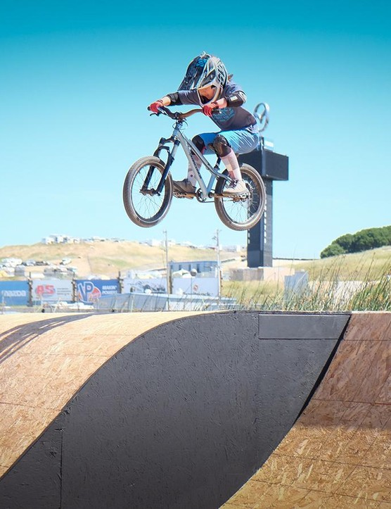 Speaking of little shredders, there's a new generation of riders on the horizon that will put us to shame