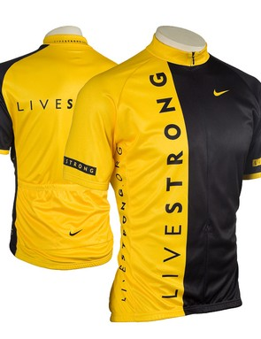 The latest Livestrong jersey.