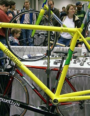 Llewellyn also does track frames, and McCulloch has worked with the Australian national team.