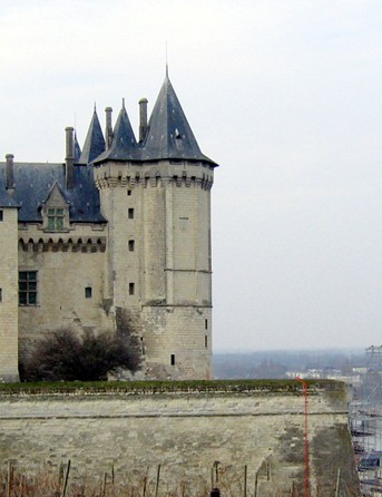 There are plenty of chateaux to spot on the Loire