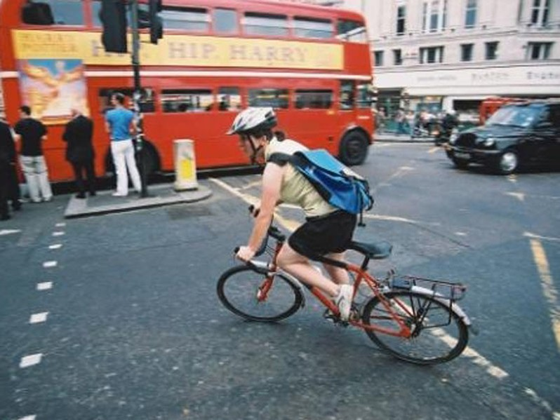 London cyclists are not completely sold on Boris Johnson