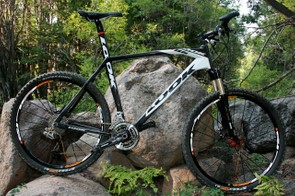 The Look 986 carbon hardtail.