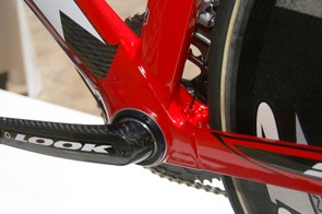 Lying at the heart of the 596 is its monstrous bottom bracket shell.