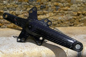The clever integrated spider will accept either 110mm or 130mm BCD chainrings.