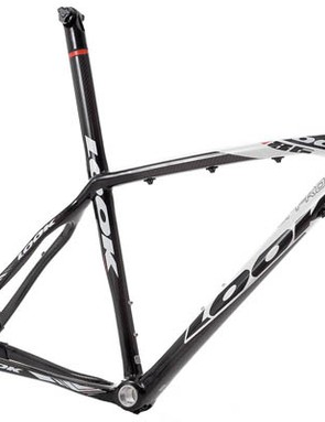The Look 986 carbon hardtail frame.