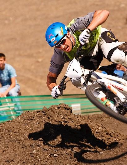 Flyin' Brian Lopes in San Luis Obispo.