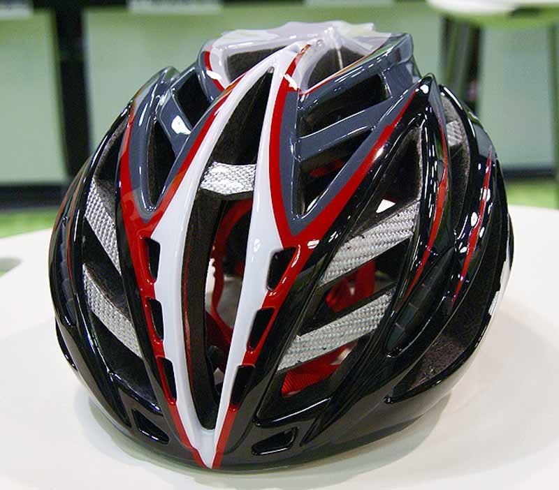 Louis Garneau equips its new Diamond helmet with a whopping 40 vents.